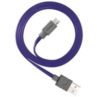Ventev Charge & Sync Micro USB Cable 3.3ft Purple
