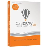 CorelDraw X8 Home & Student 3-User