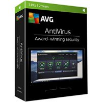 AVG Antivirus 3-User 2Yr BIL