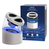 Clearly  Bluetooth Speaker Crystal Clear Design - 1spkr