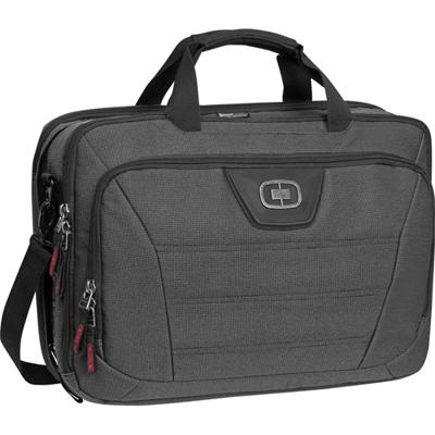 Ogio Laptop Bag Renegade Top Zip 17in Black Pindot