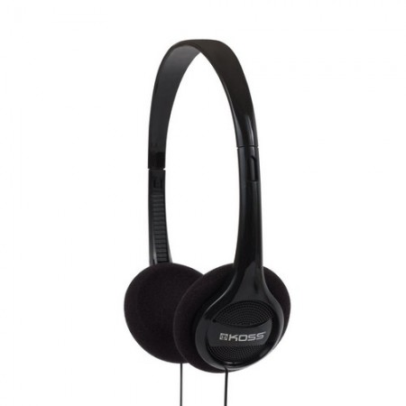 Koss Headphone KPH7 Portable On Ear Black
