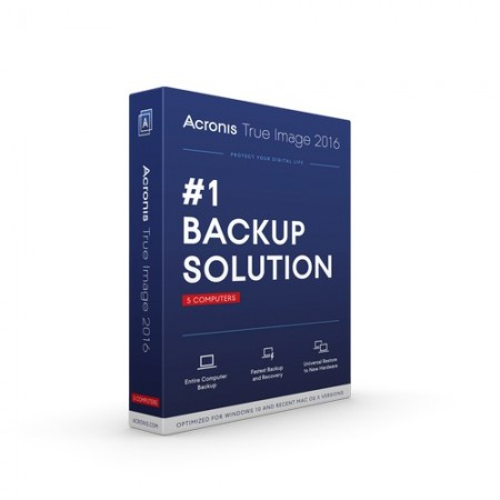 Acronis True Image 2016 Backup & Recovery (BIL)
