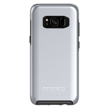 OtterBox Galaxy S8 Symmetry Graphic Titanium Silver