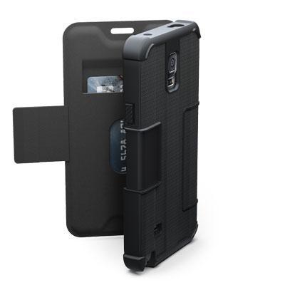 UAG Galaxy Note 4 Folio Scout Black/Black