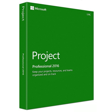 Microsoft Project 2016 Pro Medialess PKC