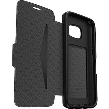 OtterBox Galaxy S7 Edge Leather Strada FolioBlueTempes