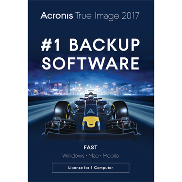 Acronis True Image 2017 Backup & Recovery 1-User BIL