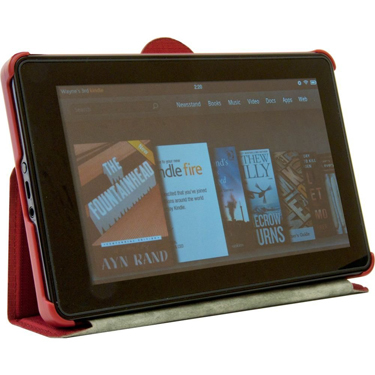 STM Kindle Fire 7in Skinny Berry Red