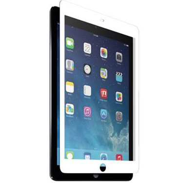 Nitro iPad Air/Air 2 Tempered Glass White Bezel