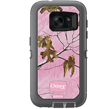 OtterBox Galaxy S7 Defender Camo Pink/Grey Realtree Xtra