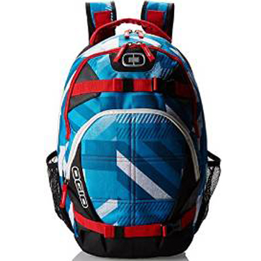 Ogio Backpack Rebel 15in F11 Blue/White/Red