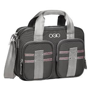 Ogio Women Tablet Shoulder Bag Barcelona 11.5in Gray/Pink