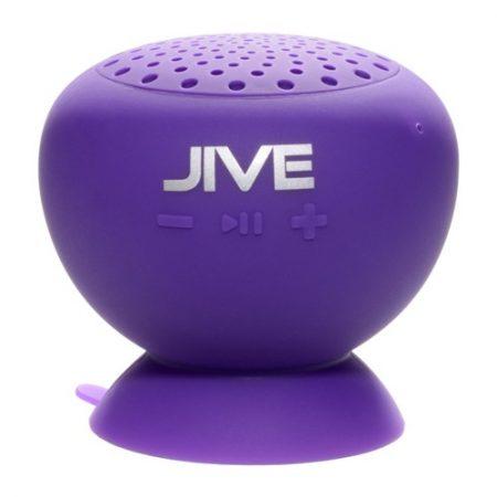Lyrix Jive Water Resistant Wireless Speaker Purple