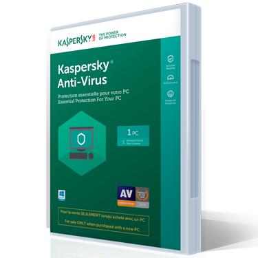 Kaspersky Antivirus 2018 Tech-Bench OEM 1-User BIL