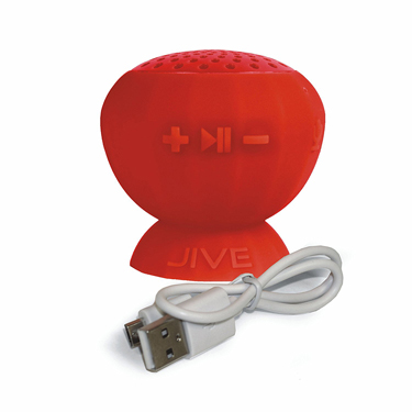 Lyrix Jive Water Resistant Wireless Speaker Red