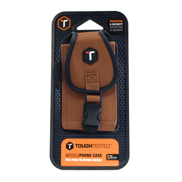 Tough Tested Universal Case Rugged Tan 6 Point Security