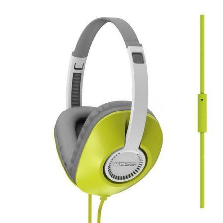 Koss Headphone UR23i FullSize with Mic Green