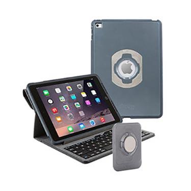 OtterBox iPad Air 2 Leather Agility Kybd Folio WallMnt Bla