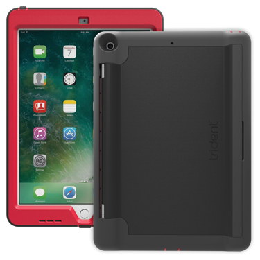 Trident iPad 9.7 2017 Academia Bulk Red