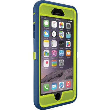 OtterBox iPhone 6+/6S+ Defender Citron/Electric Blue