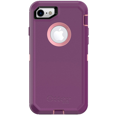OtterBox iPhone 7/8 Defender Pink/Purple Vinyasa