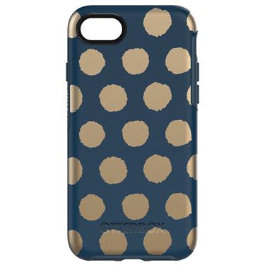 OtterBox iPhone 7/8 Symmetry Graphics Dark Blue/Dark Blue