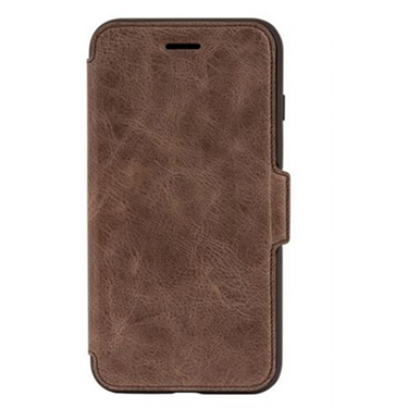 OtterBox iPhone 7+/8+ Leather Strada Folio Brown/Brown