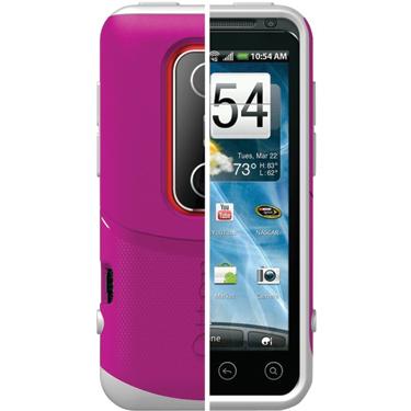 OtterBox HTC EVO 3D Commuter Stength Case Avon Pink