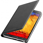 Samsung OEM Galaxy Note 3 Leather Cover Black