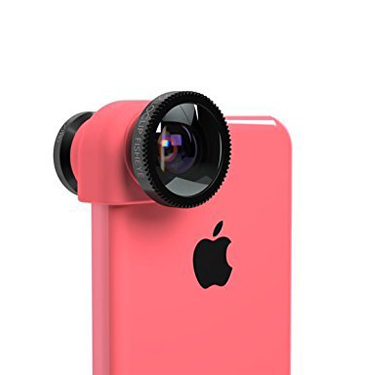 Olloclip iPhone 5C 3-in-1 Lens System w/Pink Clip