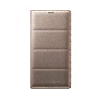 Samsung OEM Galaxy Note 4 Wallet Flip Gold