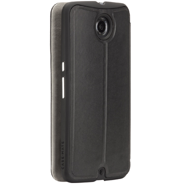 Case-Mate Motorola Nexus 6 Black/Grey Stand Folio