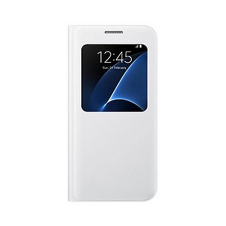 Samsung OEM Galaxy S7 S View Cover White
