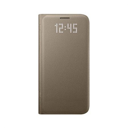 Samsung OEM Galaxy S7 LED View Cover Gold