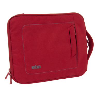 STM Jacket 10in Tablet Jacket Sleeve Berry Red