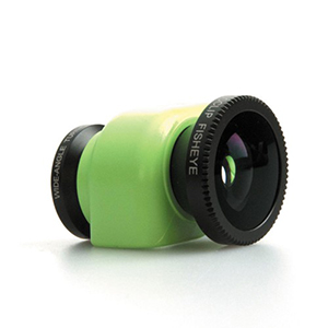 Olloclip iPhone 5C 3-in-1 Lens System w/Green Clip