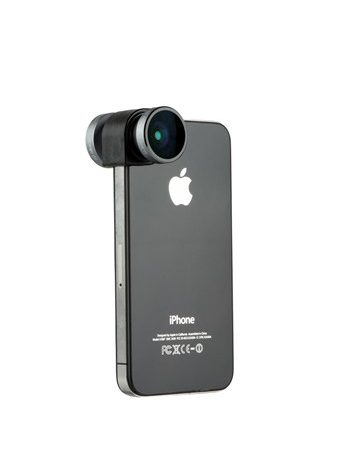 Olloclip iPhone 4/4S 4-in-1 Grey Lens and Black Clip