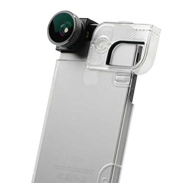 Olloclip iPhone 5/5S/SE 4-in-1 Grey Lens/BlkClip/Clr Case