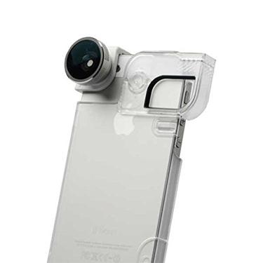 Olloclip iPhone 5/5S/SE 4-in-1 Slv Lens/WhtClip/Blk Case