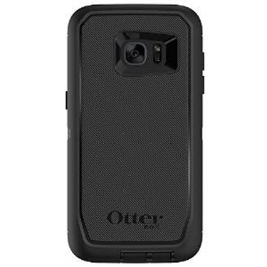 OtterBox Galaxy S7 Edge Defender Black