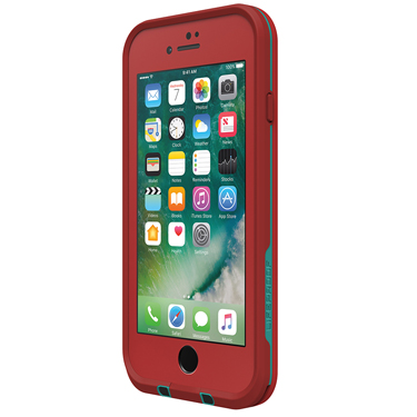 Lifeproof iPhone 7 Fre  Red/Light Blue Ember Red