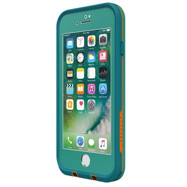 Lifeproof iPhone 7+ Fre Light Blue/Mango Sunset Bay
