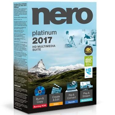 Nero 2017 Platinum Multimedia Suite BIL