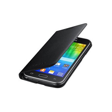 Samsung OEM Galaxy J1 Flip Wallet Black