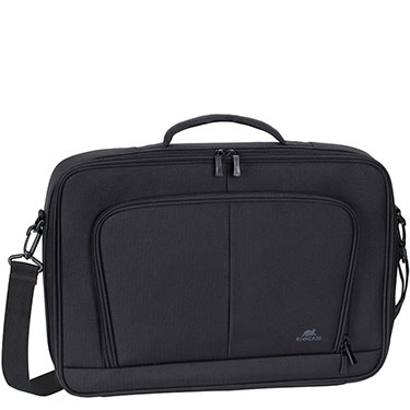 RivaCase 17.3in Laptop Bag Clamshell Tegel Black 8451