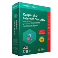 Kaspersky Internet Security 2018 3-User 1-Year BIL