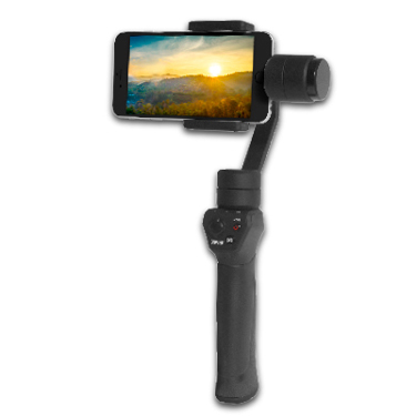 """Bower Gimbal 3-Axis Universal Fits Phones 3.5"""" to 6.1"""""""