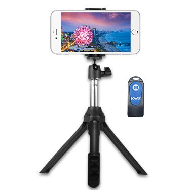 Bower TriSelfie Pod Mini Extendable with Remote