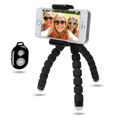 Bower Selfie Bendi Pod Compact with Remote